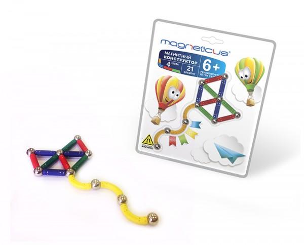 Купить Магнитный конструктор Magneticus Воздушный Змей в интернет магазине игрушек и детских товаров