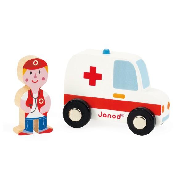Игровой набор Janod J08567 Скорая помощь и доктор