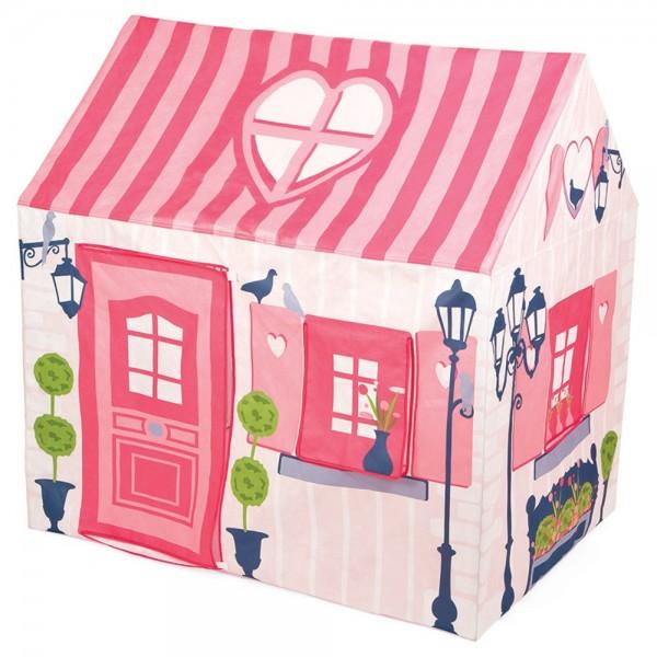 Купить Игровой дом из ткани Janod Мадмуазель (на металлическом каркасе) в интернет магазине игрушек и детских товаров