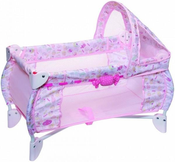 Купить Складная кроватка Baby Annabell (Zapf Creation) в интернет магазине игрушек и детских товаров
