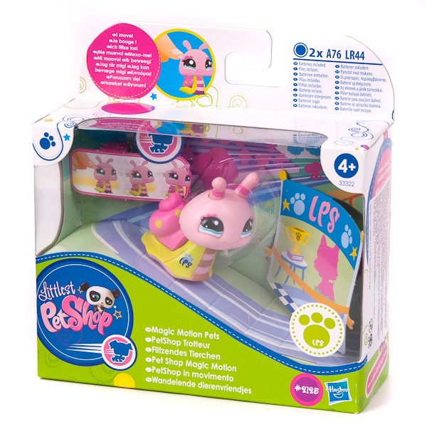 Купить Игровой набор Зверюшки ходячие Littlest Pet Shop - Улитка (Hasbro) в интернет магазине игрушек и детских товаров