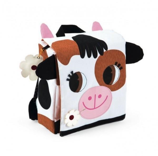 Купить Детский рюкзак Janod Корова в интернет магазине игрушек и детских товаров