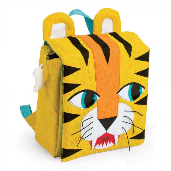 Купить Детский портфель-рюкзак Janod Тигр в интернет магазине игрушек и детских товаров
