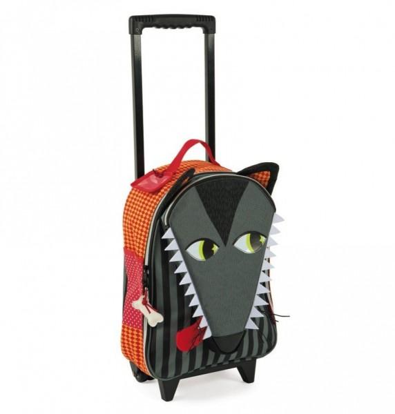 Купить Детский чемоданчик Janod Волк в интернет магазине игрушек и детских товаров