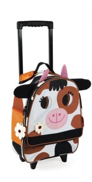Купить Детский чемоданчик Janod Корова в интернет магазине игрушек и детских товаров