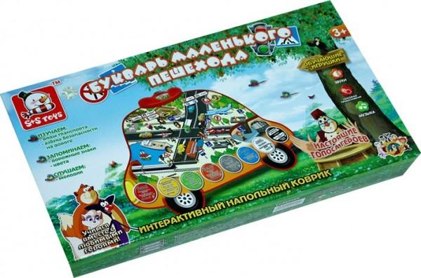 Электронная игра SS Toys 1170031 Букварь маленького пешехода