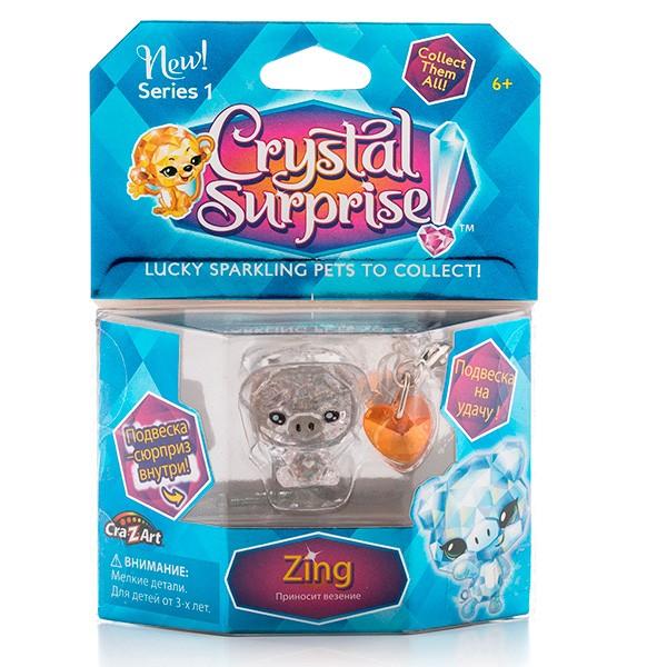Игровой набор Crystal Surprise Поросенок