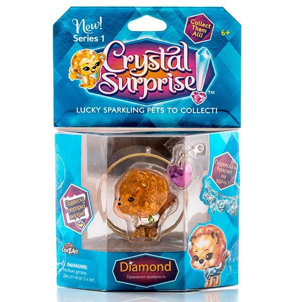 Игровой набор с браслетом Crystal Surprise 45711 Львенок