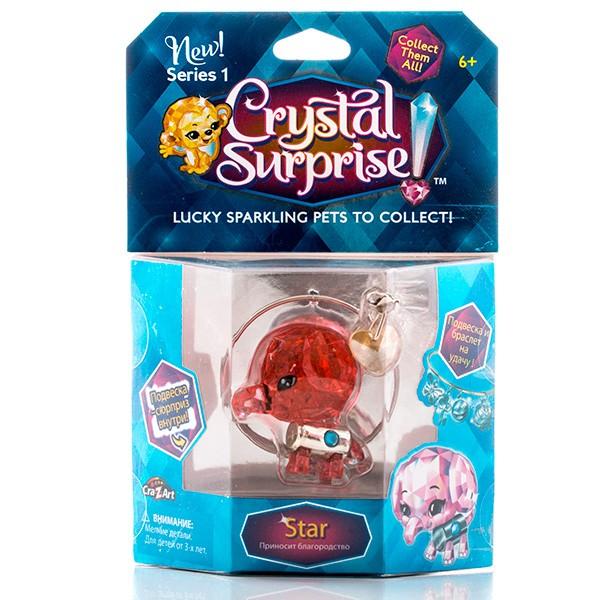 Игровой набор с браслетом Crystal Surprise Слоник