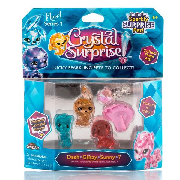 Игровой набор Crystal Surprise 4 фигурки (набор 1)