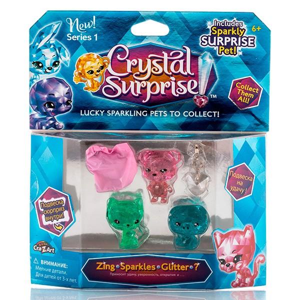 Игровой набор Crystal Surprise 4 фигурки (набор 2)