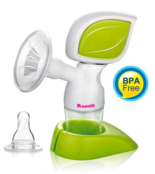 Купить Двухфазный электрический молокоотсос Ramili Single Electric SE150 в интернет магазине игрушек и детских товаров