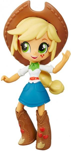 Кукла мини My Little Pony Equestria Girls Эпплджек - 12 см (Hasbro)