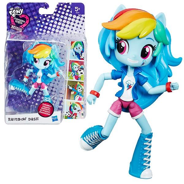Кукла мини My Little Pony Equestria Girls Рейнбоу Дэш - 12 см (Hasbro)