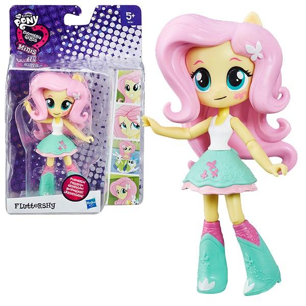 Кукла мини My Little Pony Equestria Girls Флаттершай - 12 см (Hasbro)