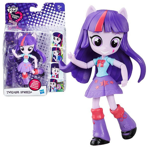 Кукла мини My Little Pony Equestria Girls Твайлайт Спаркл - 12 см (Hasbro)