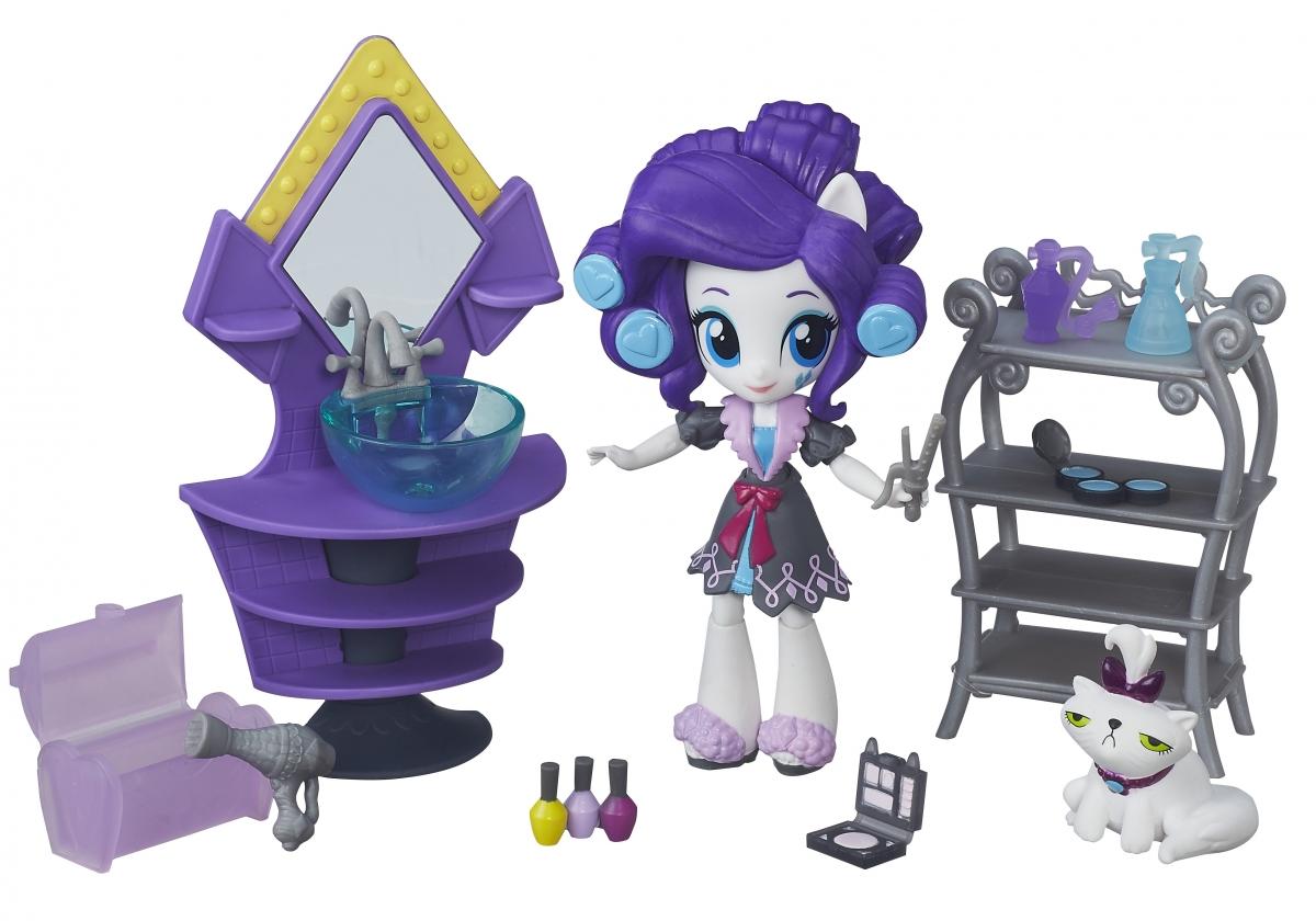 Игровой набор My Little Pony Equestria Girls Пижамная вечеринка - Рарити Rarity (HASBRO)