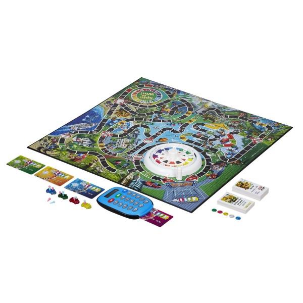 Купить Настольная игра Hasbro Games Игра в жизнь с банковскими картами в интернет магазине игрушек и детских товаров