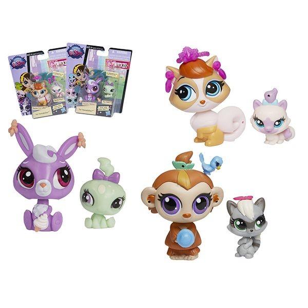 Игровой набор Littlest Pet Shop Зверюшка и ее малыш (Hasbro)