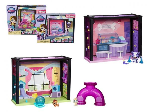 Игровой набор Littlest Pet Shop Стильный мини-набор (Hasbro)