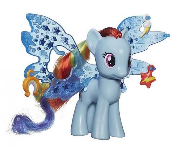 Игровой набор My Little Pony Пони Рейнбоу Дэш Делюкс с волшебными крыльями (HASBRO)