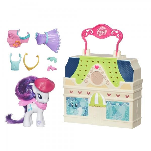 Игровой набор My Little Pony Мейнхеттен - Пони Рарити (Hasbro)
