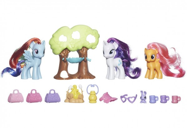 Игровой набор My Little Pony Путешествие в кемпинг - Рарити (Hasbro)