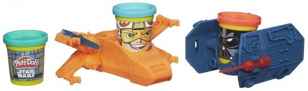 Игровой набор Play-Doh Транспортные средства героев Звездных войн (Hasbro)