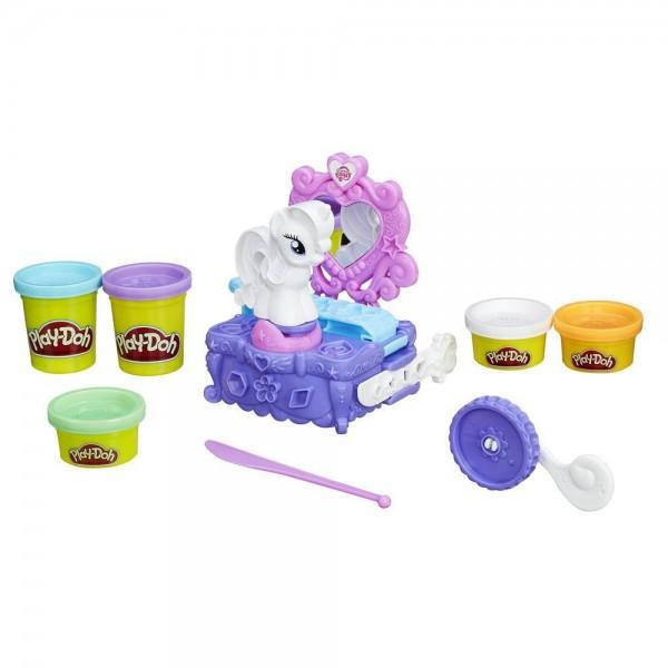 Игровой набор Play-Doh Туалетный столик Рарити (Hasbro)