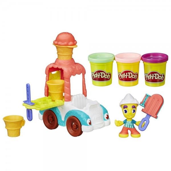 Игровой набор Play-Doh Грузовичок с мороженым (Hasbro)