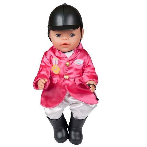 Купить Одежда для верховой езды для куклы-девочки Baby born (Zapf Creation) в интернет магазине игрушек и детских товаров