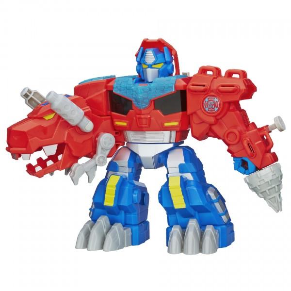 Купить Игровой набор Transformers Оптимус Прайм Дино (Hasbro) в интернет магазине игрушек и детских товаров