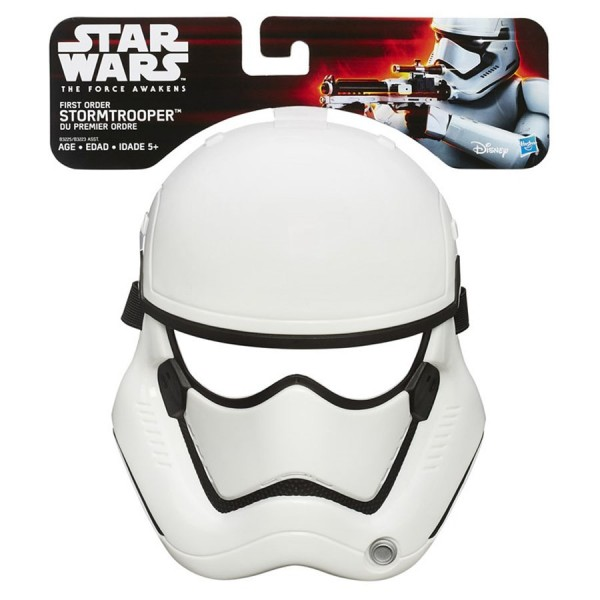 Купить Маска штурмовика Первого порядка Звездных войн Star Wars (Hasbro) в интернет магазине игрушек и детских товаров