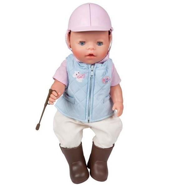 Купить Одежда для верховой езды для куклы-мальчика Baby born (Zapf Creation) в интернет магазине игрушек и детских товаров