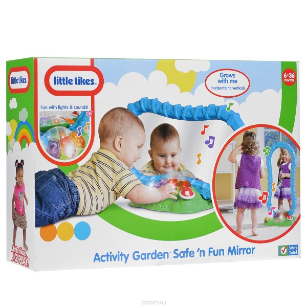 Купить Развивающая игрушка Little Tikes Зеркало (со звуковыми и световыми эффектами) в интернет магазине игрушек и детских товаров