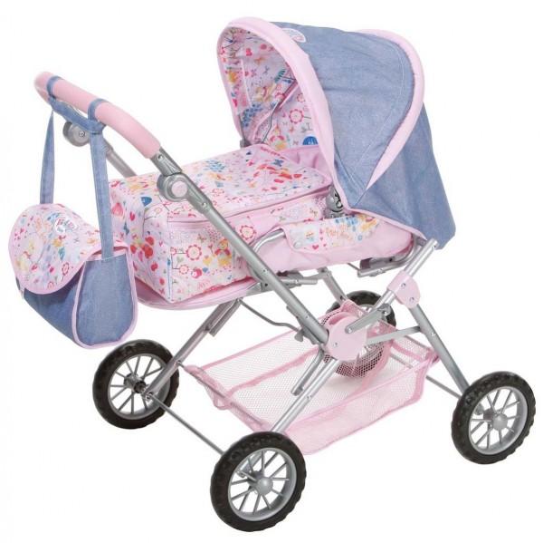 Купить Коляска прогулочная Deluxe для Baby born 3 в 1 (Zapf Creation) в интернет магазине игрушек и детских товаров