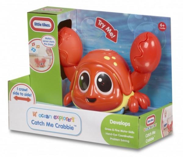 Развивающая игрушка Little Tikes Шустрый краб (с датчиком движения и звуковыми эффектами)