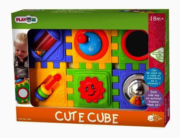 Развивающий центр PlayGo Куб разборный
