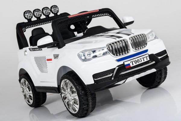 Купить Электромобиль River Toys BMW T005TT с дистанционным управлением в интернет магазине игрушек и детских товаров