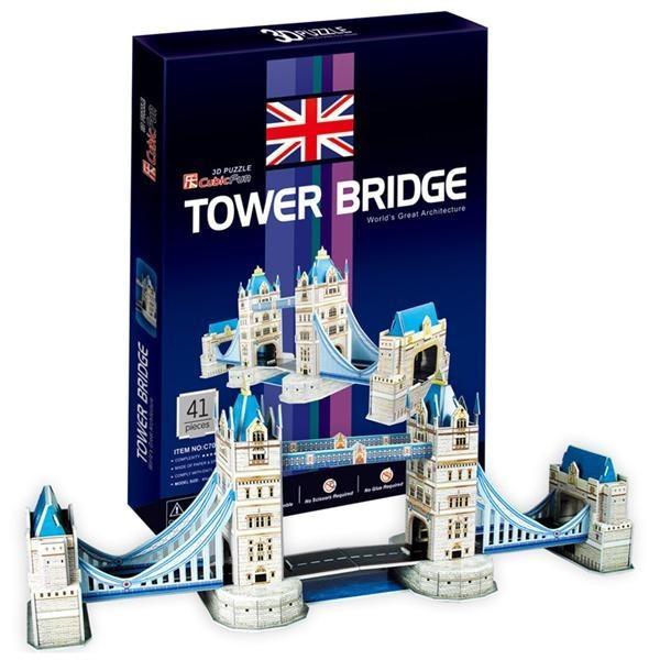 Объемный 3D пазл CubicFun Таэурский мост в Великобритании