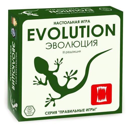 Настольная игра Правильные игры 13-01-01 Эволюция