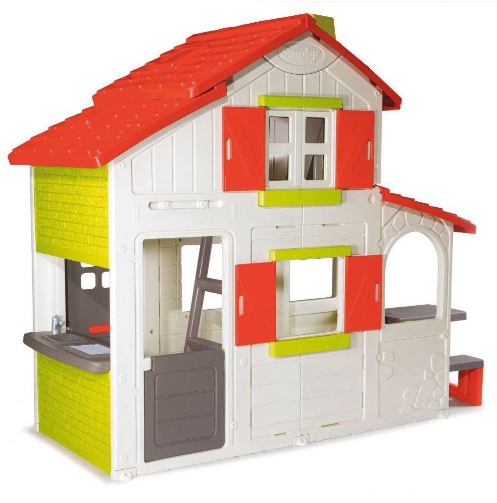 Большой двухэтажный коттедж Smoby 320023 для друзей