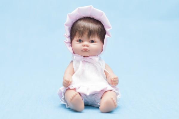 Кукла-пупс Asi 112970 - 20 см (в розовом комплекте)
