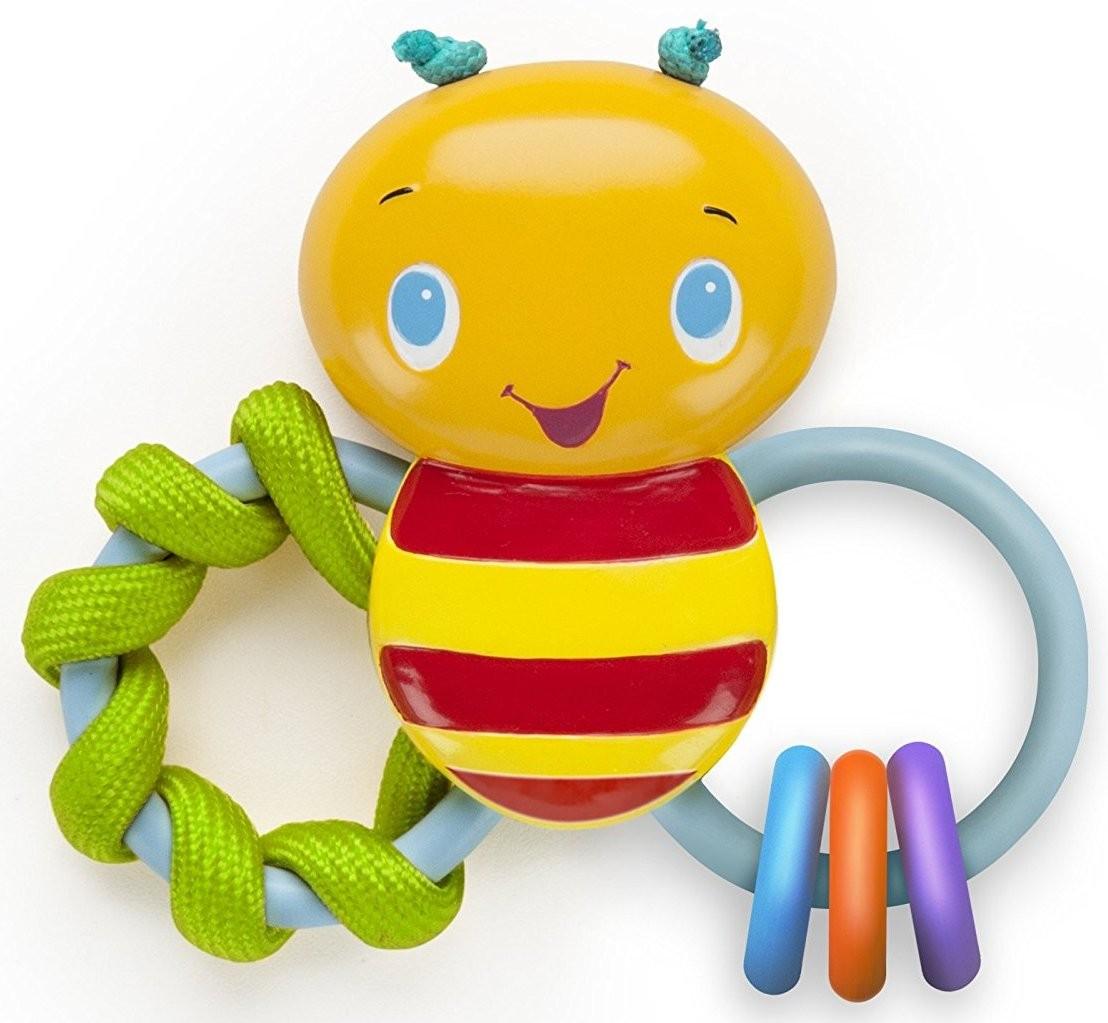 Развивающая игрушка-погремушка Bright Starts 52025 Пчелка