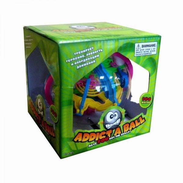 Купить Шар-головоломка 3D Addict a ball - 100 шагов в интернет магазине игрушек и детских товаров