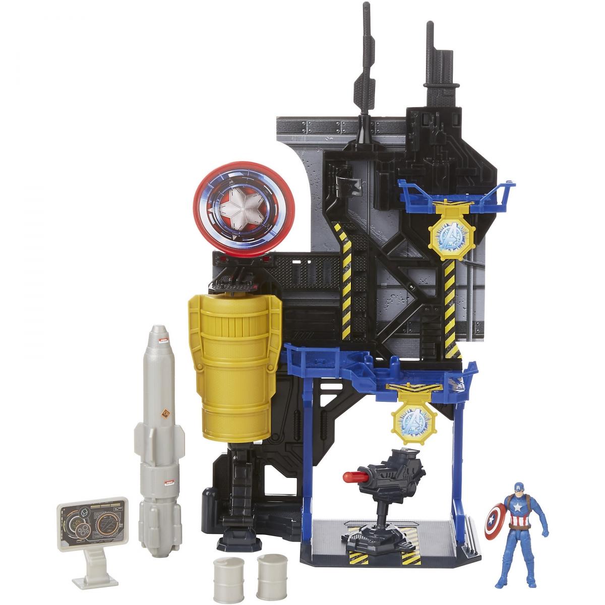 Игровой набор Hasbro B5770 Игровая башня Мстителей - Штаб-квартира Капитана Америки
