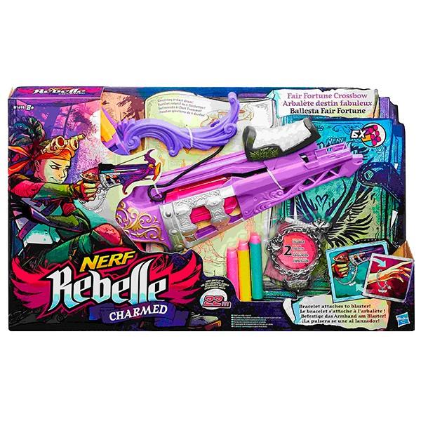 Арбалет Hasbro B1698 N-Rebelle Чарм Фортуна