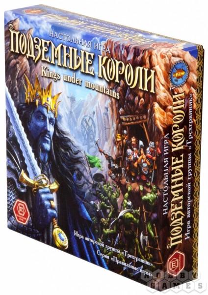 Настольная игра Правильные игры 31-01-01 Подземные короли