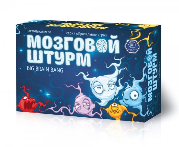 Настольная игра Правильные игры 35-01-01 Мозговой штурм