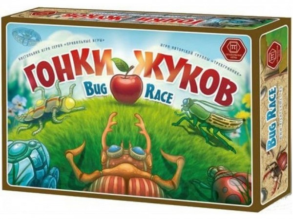 Настольная игра Правильные игры 33-01-01 Гонки жуков